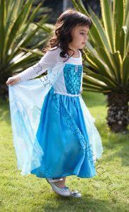 Платье Эльза Холодное сердце  120, 130, 140 см