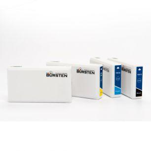 Перезаправляемые картриджи Bursten Nano 2 для Epson WorkForce Pro WP-4020, Pro WP-4530, Pro WP-4540 (Т676ХL1, T676XL2, Т676XL3, Т676XL4) x 4 шт.