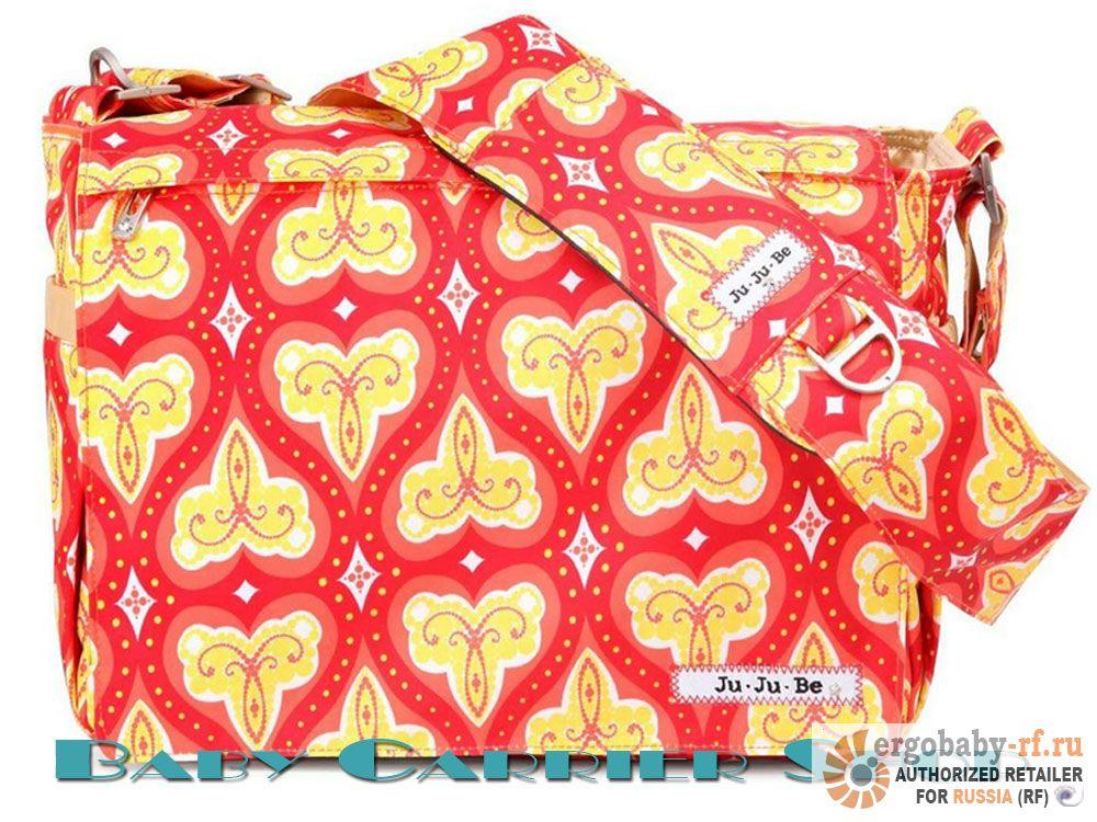 Сумка для мамы на коляску JU-JU-BE «Be All Coral Kiss» Classic Collection JuJuBe [ЖуЖуБи Би Олл]