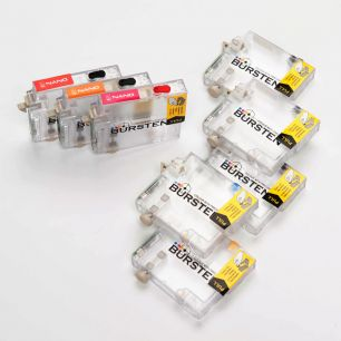 Перезаправляемые картриджи Bursten Nano 2 для Epson  Stylus Photo 2100, 2200 (T0341 - T0348) x 8 шт.
