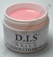 Гель DIS Builder Cover Petal (бежево-розовый, средней вязкости), 30 грамм