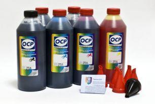 Чернила OCP для принтера и МФУ Canon MG6340, MG7140, MG7540, IP8740 (BK35, BK130, BK135, C135, M135, Y135) Safe Set, комплект 1000 гр. x 6