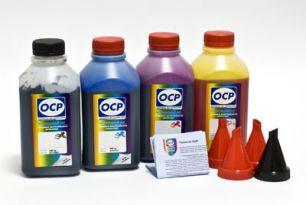 Чернила OCP для принтера и МФУ Canon iP1800, iP1900, MP160, MP210 (BK35, C795, M795, Y795) Safe Set, комплект 500 гр. x 4