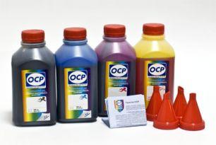 Чернила OCP для принтера и МФУ Canon iP1800, iP1900, MP160, MP210 (BKP44, C795, M795, Y795), картриджи PG-40, CL-41 комплект 500 гр. x 4
