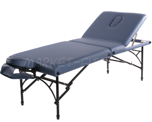 Складной массажный стол Vision Apollo Deluxe. Цвет: бордо (Складные столы)
