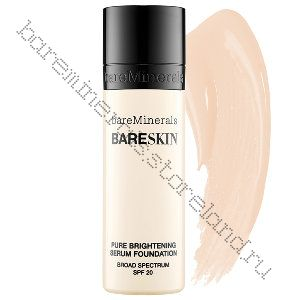 Пудра bareSkin Pure Brightening Serum SPF 20 цвет Bare Porcelain 01