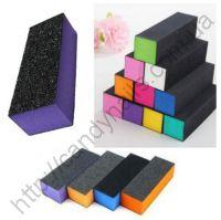 Бафик - блок для шлифовки ногтей цветной