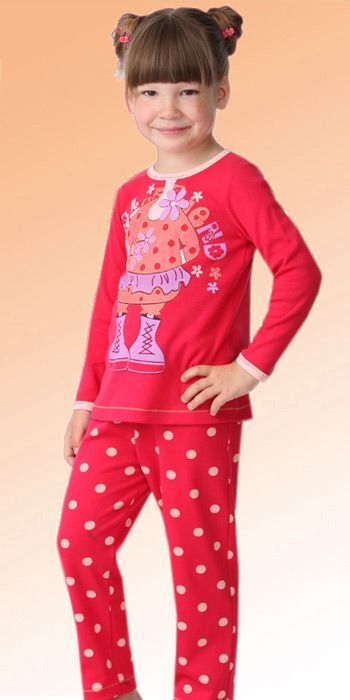 Пижама для девочки (Размер: 98-104)
