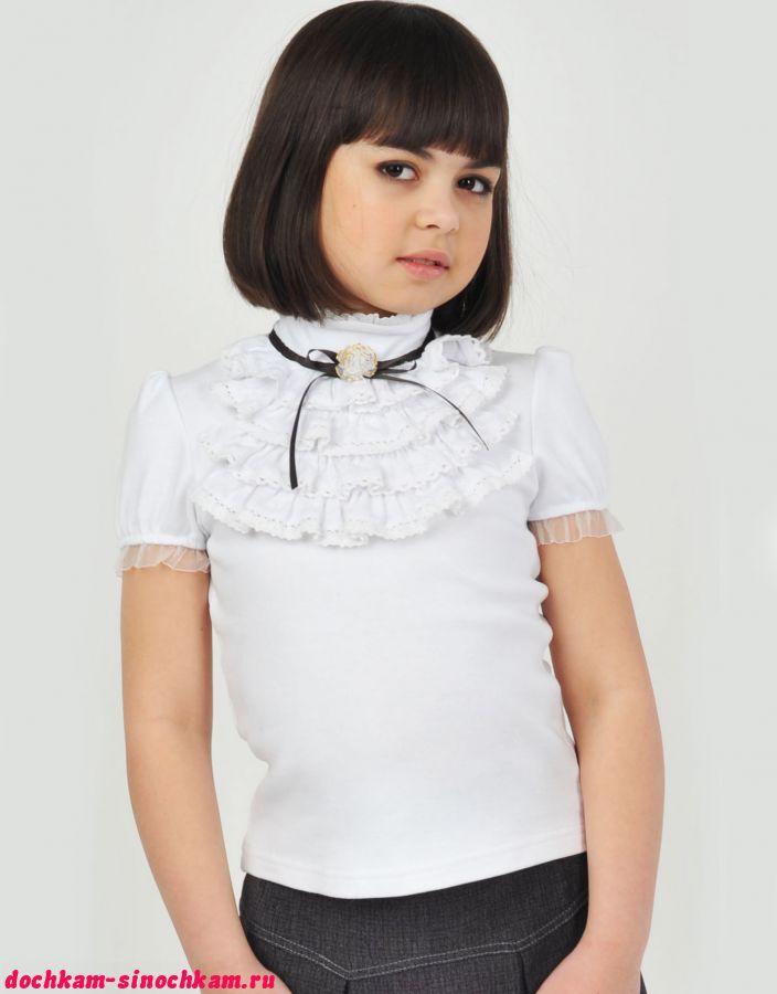 Блузка для девочки с выкройкой