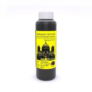 Универсальные черные чернила Bursten (Герамния) для HP, Black Pigment, 100гр.