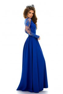 Дълга ексклузивна рокля