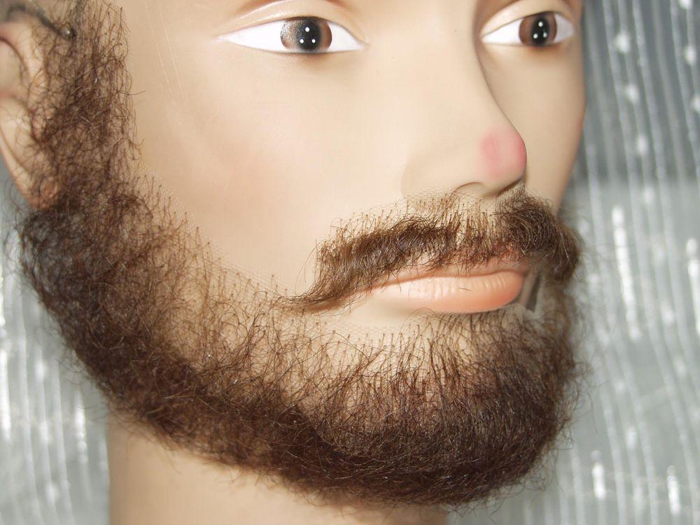 Накладные усы и бороды своими руками